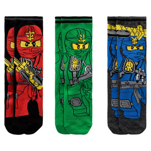 3 Paar LEGO Ninjago Socken