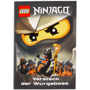 "LEGO Ninjago Buch ""Versteck der Würgeboas"""