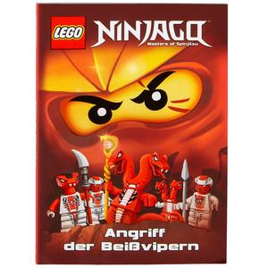 """LEGO Ninjago Buch """"Attacke der Beißvipern"""""""