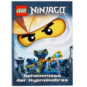"Ninjago Buch ""Geheimnisse der Hypnokobras"""