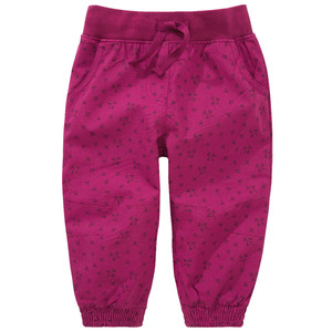 Baby Thermohose mit floralem Print