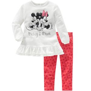 Minnie Maus Shirt und Sweatleggings im Set