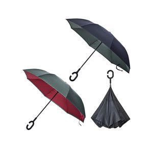 Umgekehrter Regenschirm in verschiedenen Farben