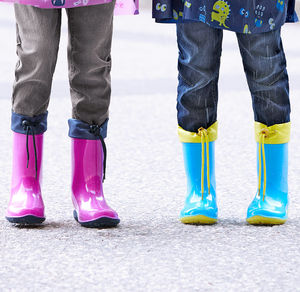 Kinder-Gummistiefel in verschiedenen Farben
