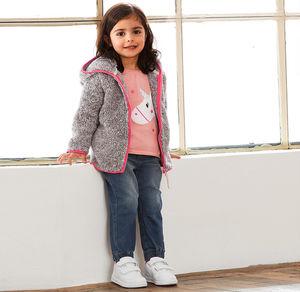 Liegelind Baby-Mädchen-Jeans im 5-Pocket-Style