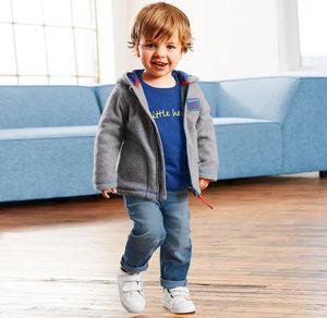 Liegelind Baby-Jungen-Jeans mit verstellbarem Bund
