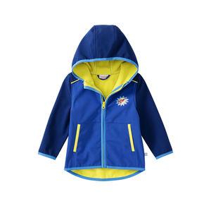 Liegelind Baby-Jungen-Softshelljacke mit modernem Farbdesign