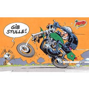 "MOTOmania Frühstücksbrett        ""Gib Stulle"""