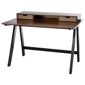 Schreibtisch, 85x75x120cm, braun