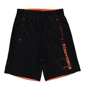manguun sports             Shorts, atmungsaktiv, zweifarbig, Schnürung
