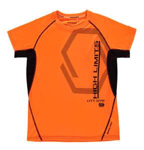 manguun sports             T-Shirt, atmungsaktiv, zweifarbig, für Jungen