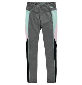manguun sports             Leggings, meliert, Schnürung, elastisch, für Mädchen