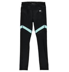 manguun sports             Leggings, elastisch, transparente Elemente, Schnürung, für Mädchen