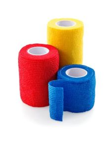 Selbsthaftende Bandagen in 3 Größen