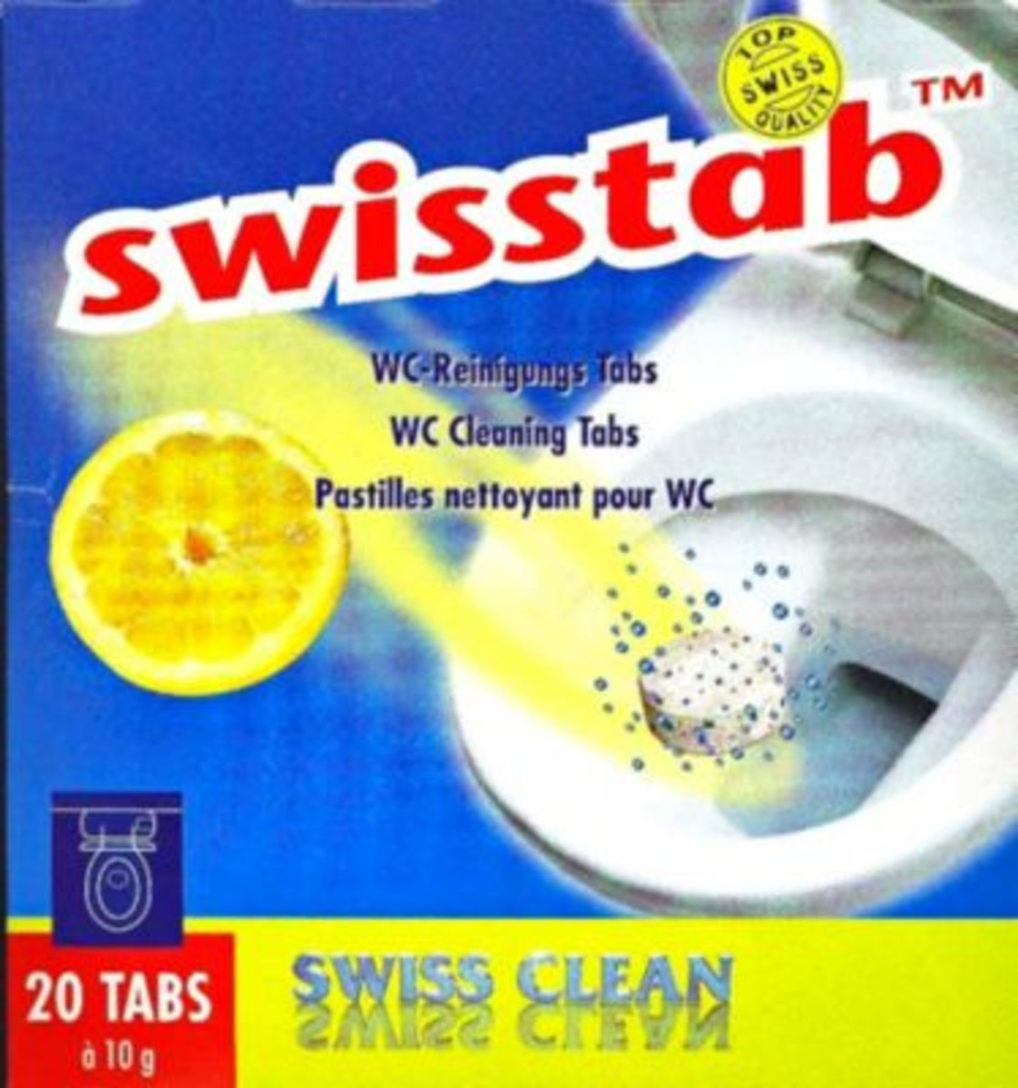 Bild 2 von Swisstabs, WC-Tabs, 20 Stk.