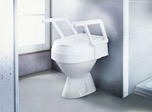 Toilettensitzerhöhung TSE 120 mit Armlehne