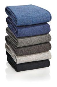 Socken ohne Gummi, 6er Pack, blau-grau, Damen 39/42