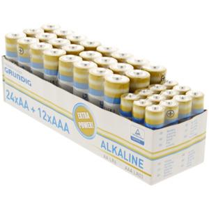Grundig Batterien AA und AAA