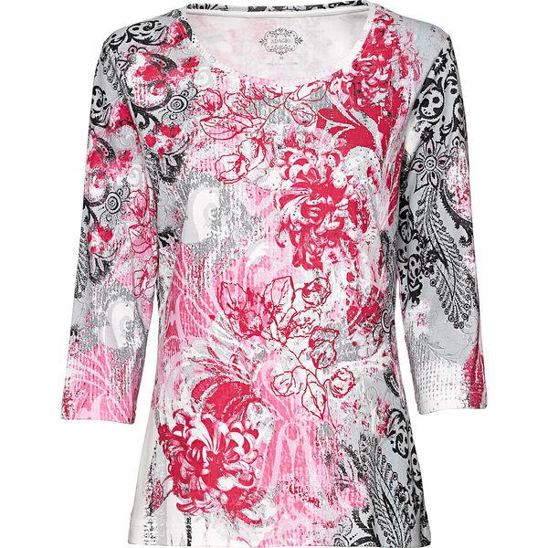 Adagio Damen-Rundhals-T-Shirt mit 3 4-Arm von Karstadt ansehen ... c7f1d6b17e