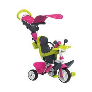 SMOBY   Dreirad Baby Driver Komfort 4 in 1 pink/grün