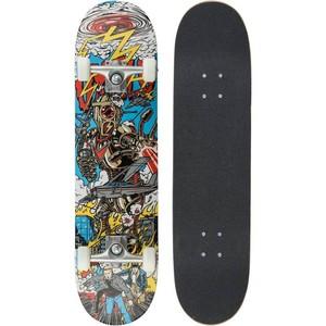 OXELO Skateboard Mid 5 Robot, Größe: Einheitsgröße