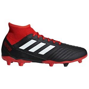 ADIDAS Fußballschuhe Multinocken Predator 3 FG Erwachsene schwarz/rot, Größe: 40
