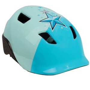 B´TWIN Fahrradhelm 520 Kinder blau, Größe: S