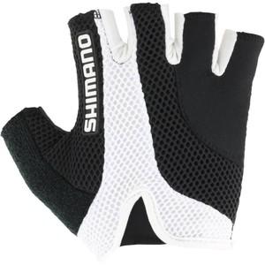 SHIMANO Fahrrad-Handschuhe kurz Shimano Airway schwarz, Größe: S