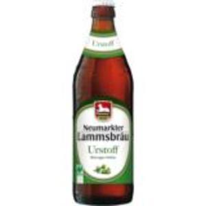 Neumarkter Lammsbräu Bierspezialität oder Radler