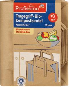 Profissimo Tragegriff-Bio-Kompostbeutel mit Tragegriff