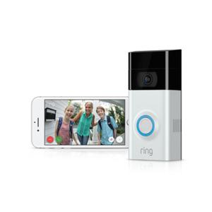 RING Video Türklingel 2 + Amazon Echo Show schwarz