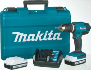 Makita Li-Ion Akku-Schlagbohrschrauber 18 V inkl. 2. Akku
