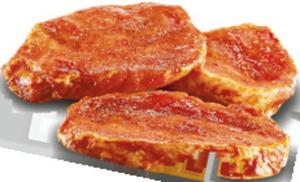 Grillbuffet  Schweine-Nackensteaks