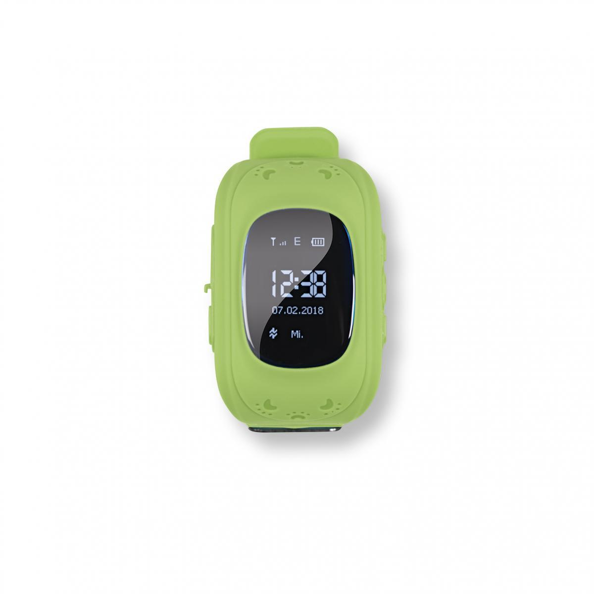 Bild 1 von EASYmaxx Armbanduhr Kids Smart Watch OLED limegreen