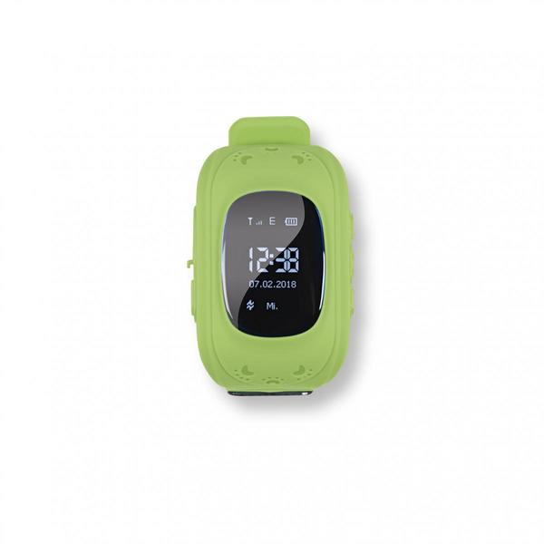 EASYmaxx Armbanduhr Kids Smart Watch OLED limegreen