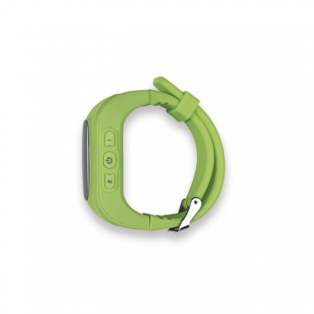 Bild 2 von EASYmaxx Armbanduhr Kids Smart Watch OLED limegreen