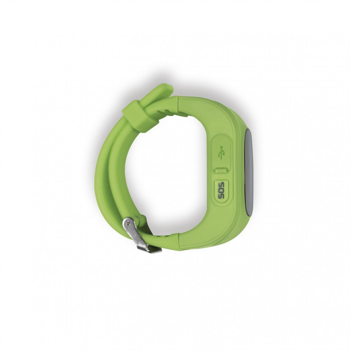 Bild 3 von EASYmaxx Armbanduhr Kids Smart Watch OLED limegreen