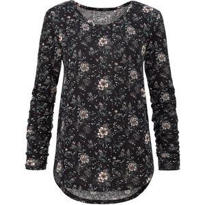 Damen Langarmshirt mit floralem Muster