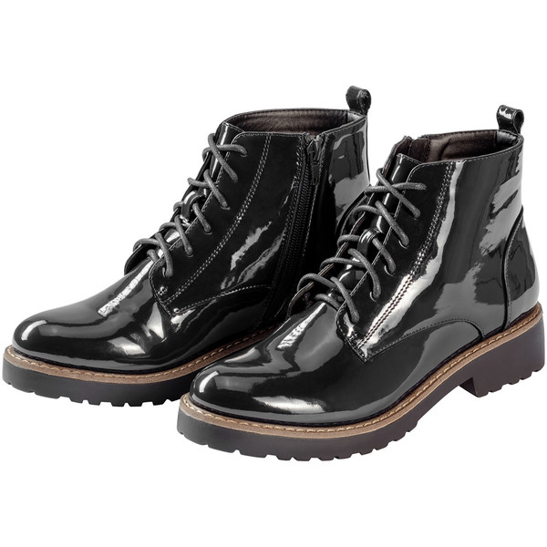 93afcfa31be387 Damen Boots in Lack-Optik von Ernstings Family ansehen! » DISCOUNTO.de
