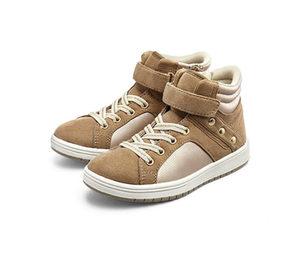Sneaker, hellbraun-creme