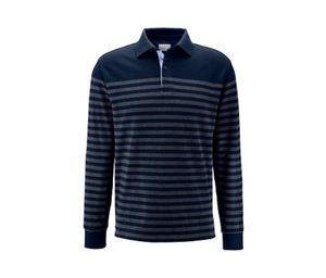 Langarm-Piqué-Poloshirt