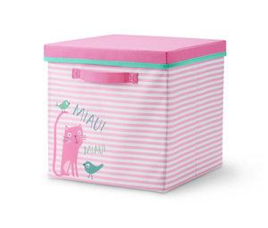Kids-Ordnungsbox mit Deckel »Cat«