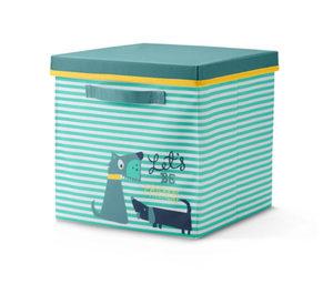 Kids-Ordnungsbox mit Deckel »Dog«