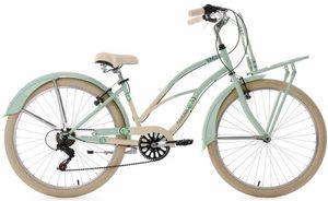 KS Cycling Cruiser »Kahuna«, 6 Gang Shimano Tourney RD-TZ50 Schaltwerk, Kettenschaltung