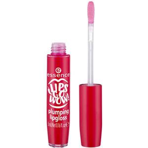 essence lips go wow! plumping lipgloss 02