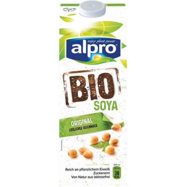 alpro soja Bio Soyadrink 1.99 EUR/1 l