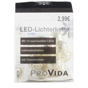 """Lichterkette """"Kugel"""" mit 10 LEDs"""