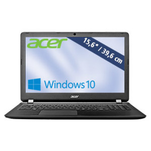 Notebook Aspire ES 1-533-C504 · HD-Display · Intel® Celeron® N3450 (bis zu 2,2 GHz) · Intel® HD Grafikkarte · USB 2.0, USB 3.0 · DVD-Brenner