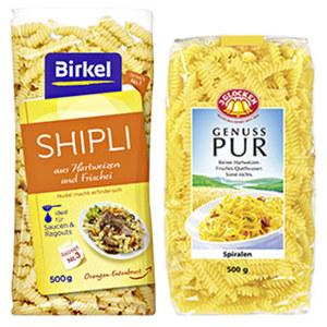Genuss Pur, Birkel's No. 1 Teigwaren oder Birkel Nudelinspiration versch. Sorten, jede 500/350-g-Packung