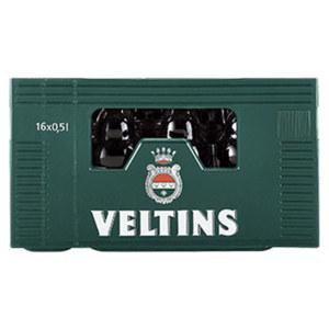 Veltins Pils Steinie 16 x 0,5/20 x 0,33 Liter, jeder Kasten